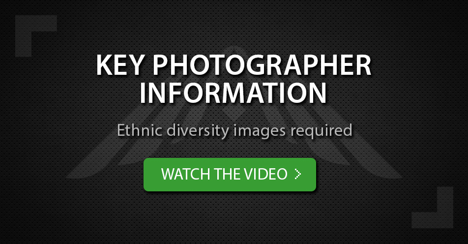 Ethnic diversity images required