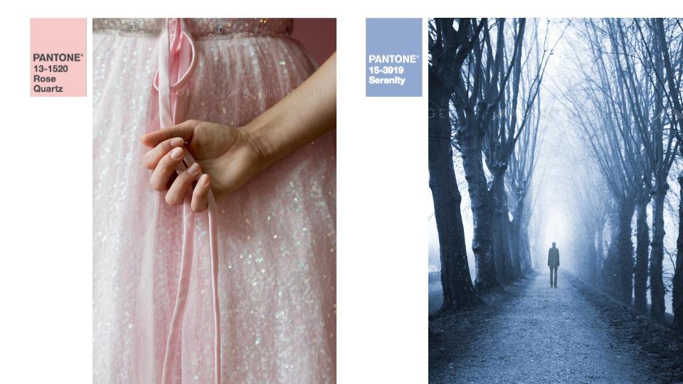 Rose Quartz + Serenity